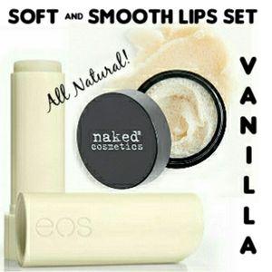 All Natural Soft & Smooth Lips Set - Vanilla